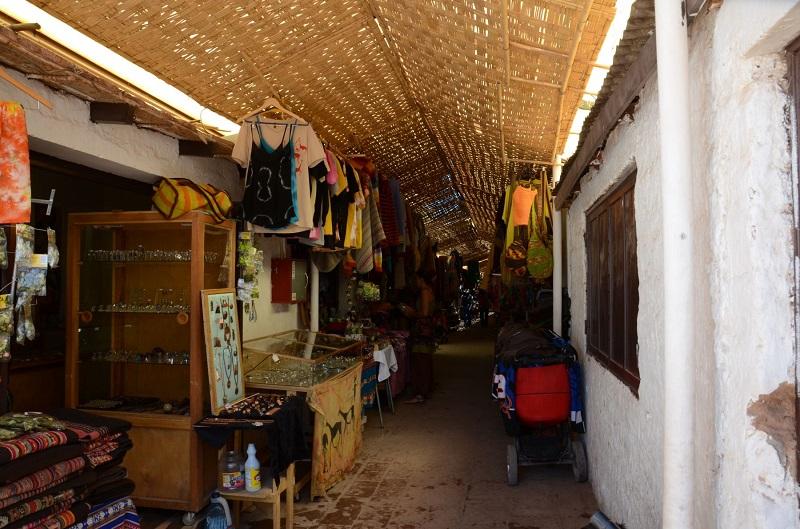 Feirinha em San Pedro de Atacama