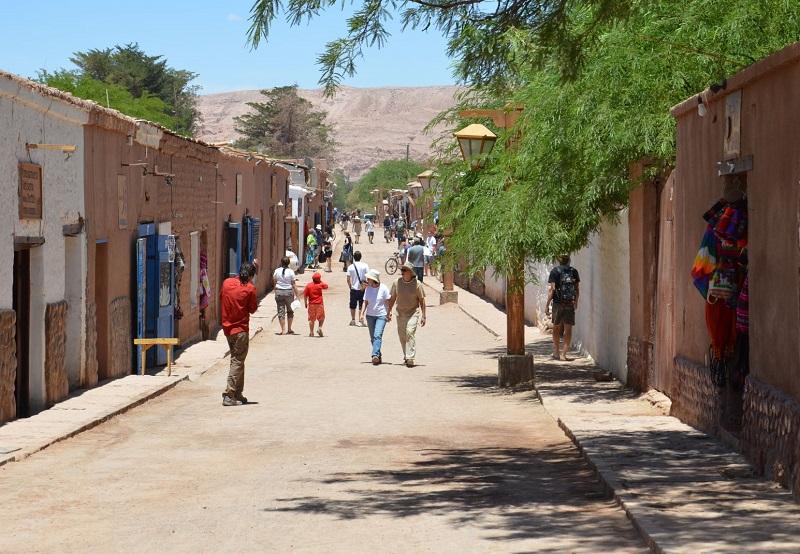 Rua de San Pedro de Atacama