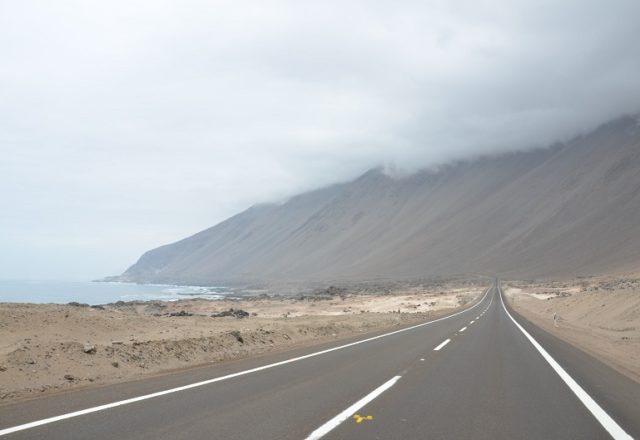 Caminho para Iquique