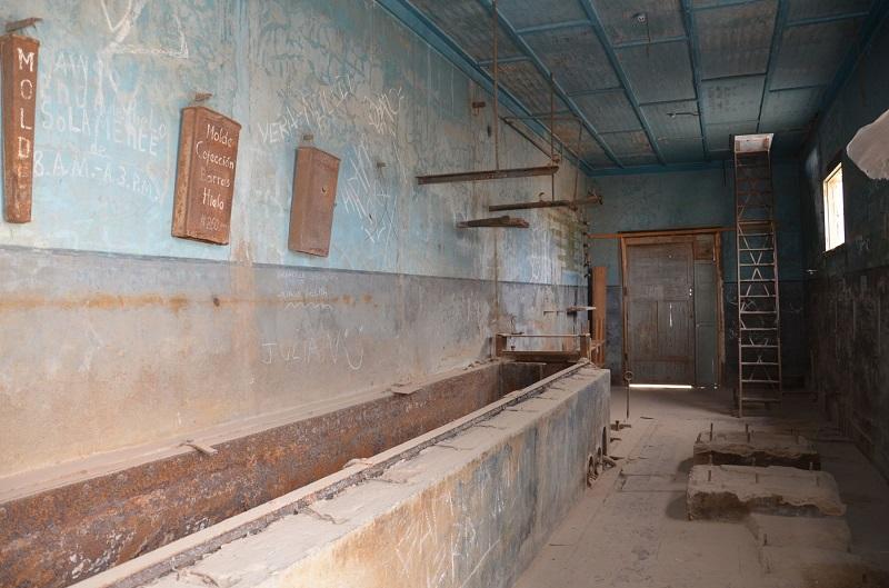 Santigo Humberstone - Fábrica de barras de gelo