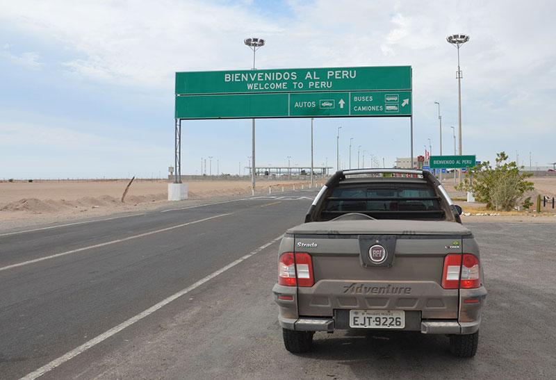 Fronteira Chile x Peru