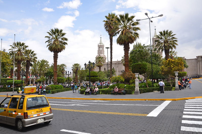 Ruas de Arequipa.