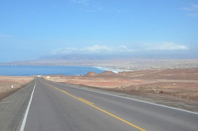 Estrada para Nazca.