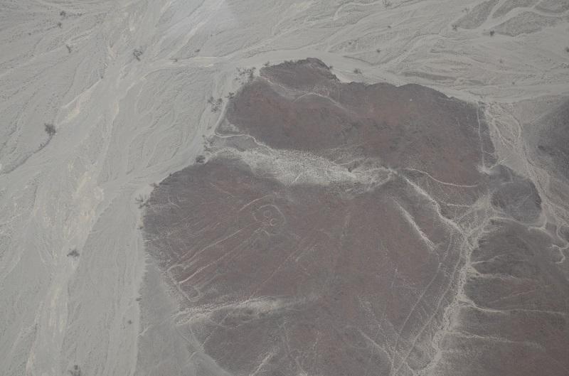 """Linha de Nazca. O """"astronauta""""."""