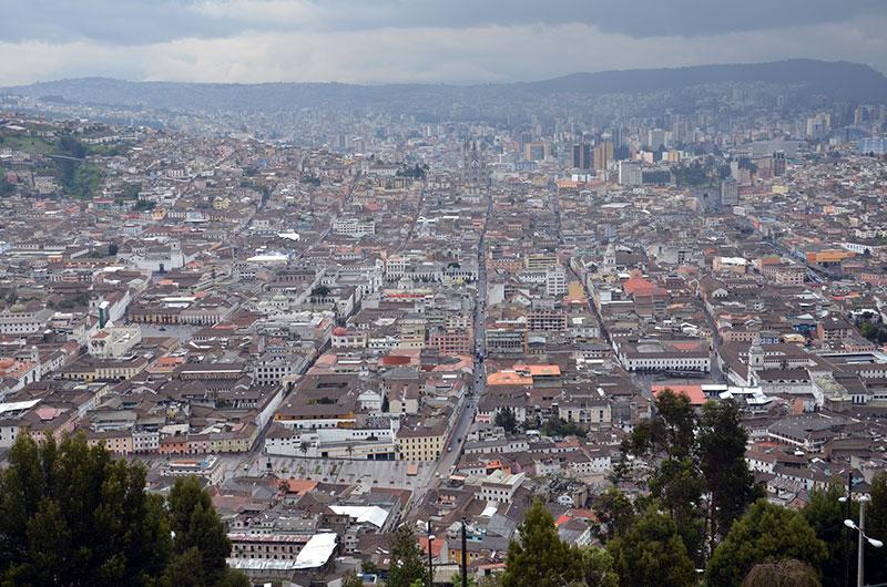 Quito vista de cima