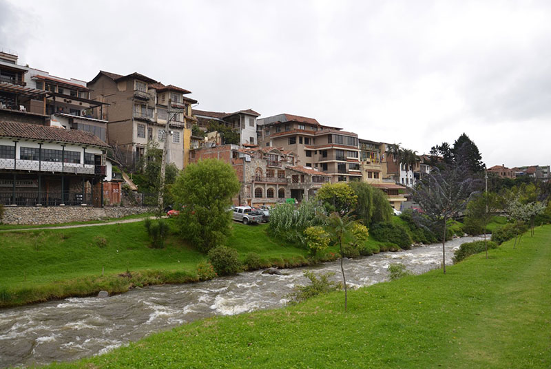 Rio em Cuenca