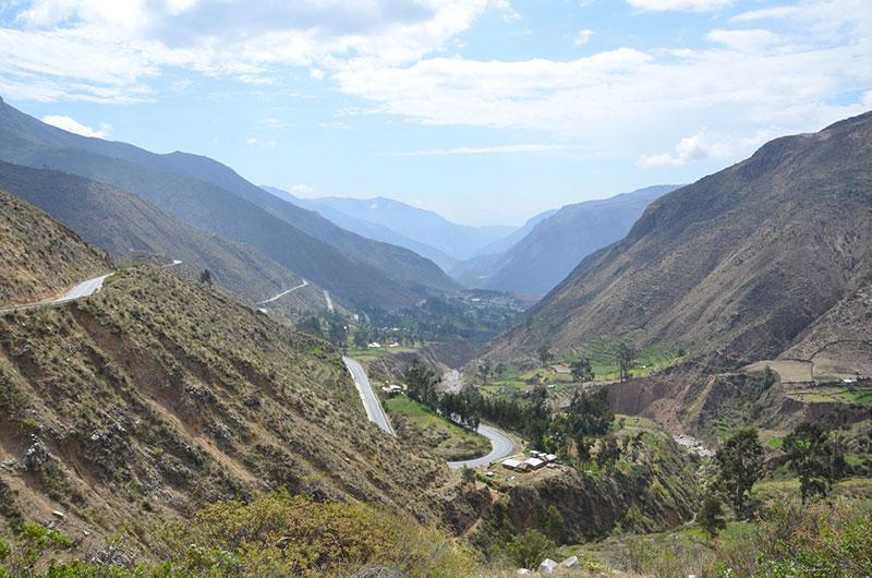 Caminho para Ayacucho