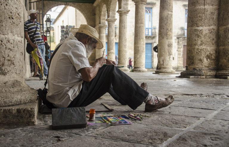 Pintando La Habana