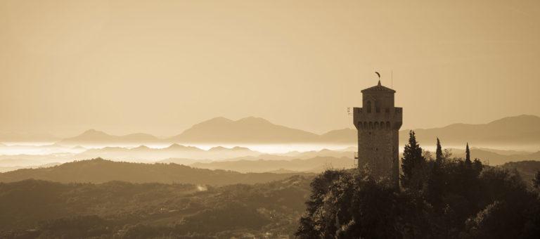 San Marino pela manhã