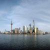 Shanghai e seus prédios altos
