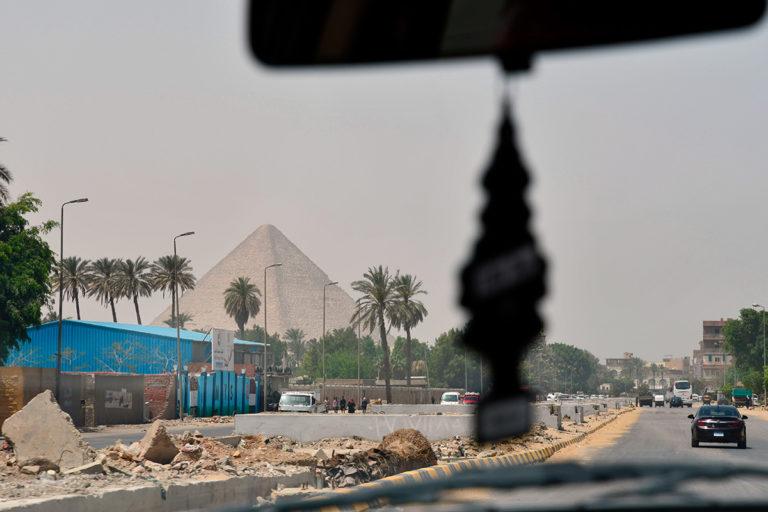 Gizé e as pirâmides