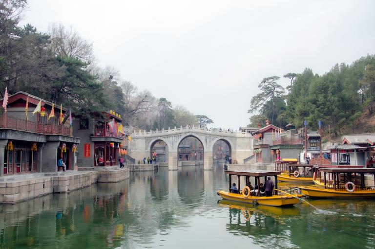 Um quadro de Pequim